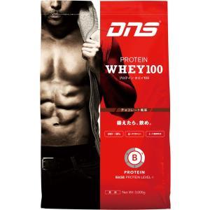 ディーエヌエス DNS プロテインホエイ100/チョコレート風味 3kg スポーツ プロテイン・サプリ|ee-powers