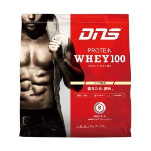 ディーエヌエス DNS プロテインホエイ100/バニラ風味 350g スポーツ プロテイン・サプリ|ee-powers