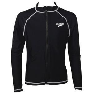 スピード ロングスリーブアクアシャツ K SD65J17 ラッシュガード UVケア スクール ボーイズ|ee-powers