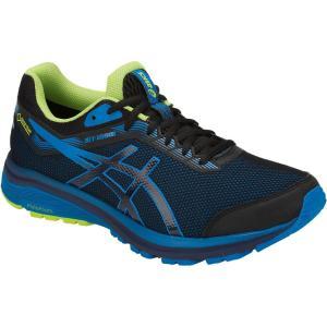 アシックス GT-1000 7 G-TX 001/BLACK/RACE BLUE 1011A037 メンズ|ee-powers