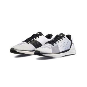 アンダーアーマー ショーストッパー White/White/Black(100) 1296199 シューズ レディース|ee-powers