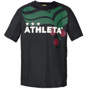 ATHLETA アスレタ カラープラクティスシャツ 70-BLK 02295J サッカー フットサル ボーイズ ee-powers