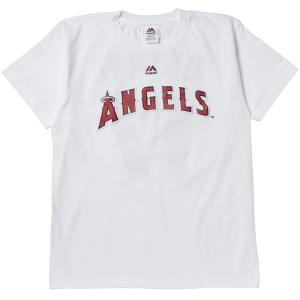 マジェスティック Majestic LA・エンゼルス 大谷 ネーム&ナンバーTシャツ WHT1 Mサイズ MK-MM08ANG098 ee-powers