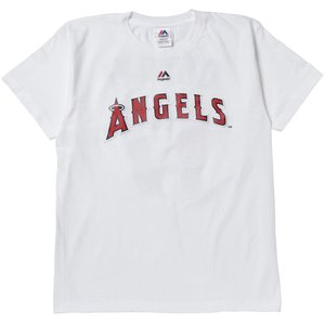 マジェスティック Majestic LA・エンゼルス 大谷 ネーム&ナンバーTシャツ WHT1 XLサイズ MK-MM08ANG098 ee-powers