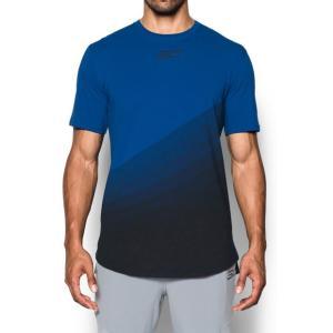 アンダーアーマー SC30 チャージドコットンTシャツ<ENERGY> Royal/Black/Black(400) 1298364 バスケ ウェア メンズ|ee-powers