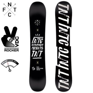 エフエヌティーシー TNT 139 18D0110021 BLACK×WHITE スノーボード TNTC|ee-powers