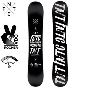 エフエヌティーシー TNT 150 18D0110021 BLACK×WHITE スノーボード TNTC|ee-powers