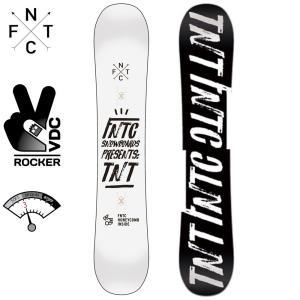 エフエヌティーシー TNT 150 18D0110021 WHITE×BLACK スノーボード TNTC|ee-powers
