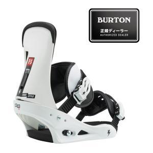 バートン Freestyle Re:Flex(TM) White/Black 10544104 スノーボード バインディング メンズ|ee-powers