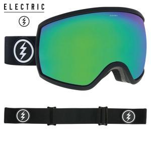 エレクトリック egg 19EGGMB フレーム/MATTE BLACK  レンズ/BROSE/GREEN CHROME スノーボード ELECTRIC|ee-powers