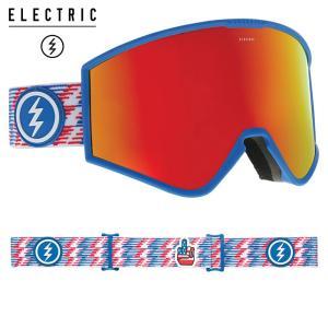 エレクトリック kleveland 19KP フレーム/PATRIOT レンズ/BROSE/RED CHROME  スノーボード ELECTRIC|ee-powers