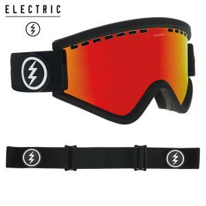 エレクトリック egv 19EGVMB フレーム/MATTE BLACK  レンズ/BROSE/RED CHROME スノーボード ELECTRIC|ee-powers