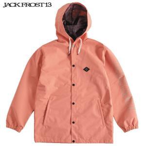 ジャックフロスト ワンスリー フーデッド コーチ ジャケット JFJ91507 071/PINK スノーボード JACKFROST 13 HOODED COACH JK|ee-powers