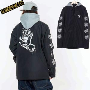 ダブルエー COACH JACKET 721-183-04 HAND BLACK スノーボード メンズ AA HARDWEAR|ee-powers