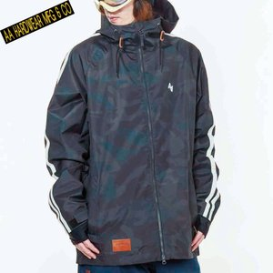 ダブルエー PHAT JACKET 721-183-06 NIGHT CAMO スノーボード メンズ AA HARDWEAR|ee-powers