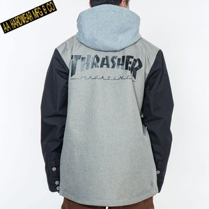 ダブルエー BARLY JACKET BLOND COLLECTION 721-183-08 THRASHER スノーボード メンズ AA HARDWEAR|ee-powers