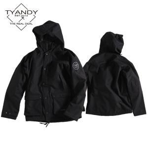 ティーアンディー  ボンデッド ハンティング ジャケット TYJ91006 009/BLACK スノーボード TYANDY BONDED HUNTING JACKET|ee-powers