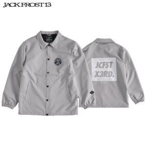 ジャックフロスト ワンスリー コーチ ジャケット JFJ91514 003/GRAY スノーボード JACKFROST 13 COACH JK|ee-powers
