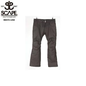 SCAPE エスケイプ FAZZ PANTS DARK BROWN 711-173-33 スノーボード ウェア メンズ|ee-powers