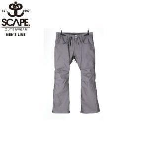 SCAPE エスケイプ FAZZ PANTS GRAY DENIM 711-173-33 スノーボード ウェア メンズ|ee-powers