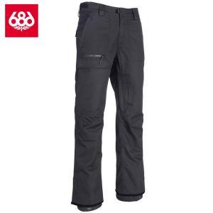 シックスエイトシックス ヴィセ シェルパンツ L8W211 Black スノーボード メンズ 686Vice Shell Pant|ee-powers