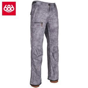 シックスエイトシックス ヴィセ シェルパンツ L8W211 Charcoal Wash スノーボード メンズ 686Vice Shell Pant|ee-powers
