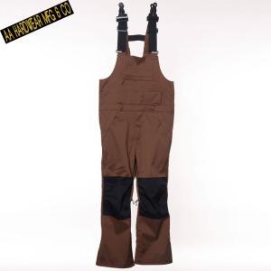 ダブルエー HIGHTOP PANTS 721-183-35 STRETCH BROWN スノーボード メンズ AA HARDWEAR|ee-powers