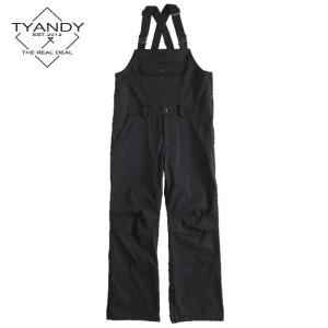 ティーアンディー  ボンデッド オーバーオール TYP91105 009/BLACK スノーボード TYANDY BONDED OVERALL|ee-powers