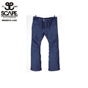 SCAPE エスケイプ CELES PANTS NAVY 711-173-38 スノーボード ウェア レディース|ee-powers