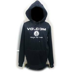 ボルコム VOLCOM 別注モデル BONDED HOODIE BLK G24518JB スノーボード ウェア メンズ 数量限定|ee-powers