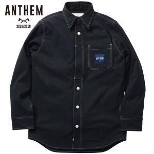 アンセム ボンデッド ワークシャツ AN1811 ORIGINAL DENIM スノーボード メンズ ANTHEM BONDED WORK SHIRT ee-powers