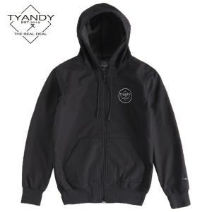 ティーアンディー  ボンデッド スタンダード ジャケット TYJ91008S 009/BLACK スノーボード TYANDY BONDED STANDARD HOODY|ee-powers