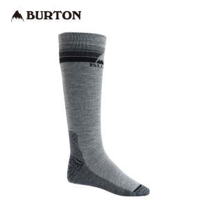 バートン Emblem Midweight Snowboard Sock 100681 Gray Heather スノーボード メンズ BURTON|ee-powers