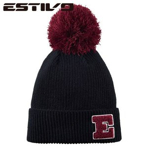 エスティボ ESTIVO POINT COLOR KNIT CAP K EVA7621 スノーボード ウェア|ee-powers