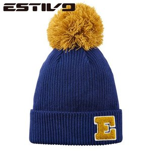 エスティボ ESTIVO POINT COLOR KNIT CAP N EVA7621 スノーボード ウェア|ee-powers