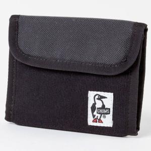 チャムス Trifold Wallet Sweat Nylon Black/Charcoal CH60-0696|ee-powers