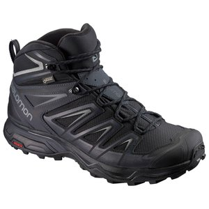 サロモン X ULTRA 3 WIDE MID GORE-TEX(R) L40129300 Black×IndiaInk×Monument メンズ SALOMON|ee-powers