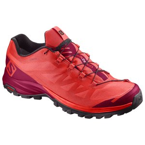 サロモン OUTpath GORE-TEX(R) L40001800 PoppyRed×Sangria×Black レディース SALOMON|ee-powers