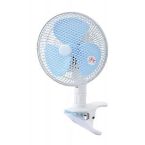イーモ 20cmクリップ扇風機 EF−206CX A 首振り|eeemo