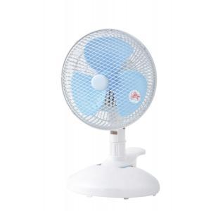 イーモ 20cmクリップ卓上扇風機 EF−206CDX A ブルー|eeemo
