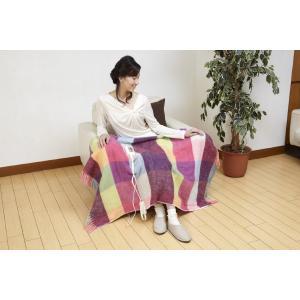 広電(KODEN) 電気ひざ掛け毛布(140×82cm) ピンク CWS−H143P|eeemo|02