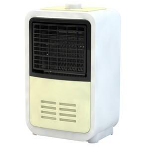 ●電気ミニファンヒーター ●消費電力:600W ●電気代(約)/時:約16.2円 ●転倒オフスイッチ...