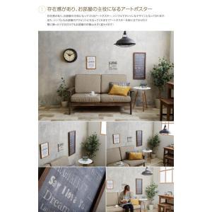 Veleta Art Poster アートポスター ポスター ウッドフレーム 床置き 可愛い 壁掛け オシャレ|eeena|02