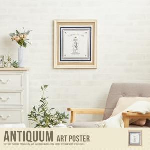 Antiquum Art Poster アートポスター ポスター 壁掛け 床置き 額付き 北欧 ウッドフレーム
