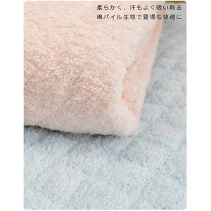 一年使える 京都西川 タオル地 綿 マイヤー 敷パッド シングルサイズ 100×205cm 敷きパッド オールシーズン タオル地 eefuton-y 04