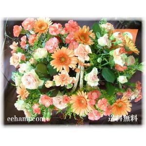新鮮なお花シリーズ  マッキンリー 送料無料  5,000円 アレンジ|eehana