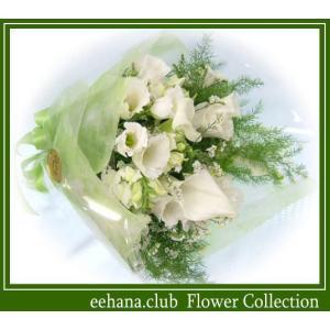 ホワイティー 花束  3,500円 送料無料  あすつく対応 |eehana