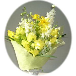 新鮮なお花シリーズ 結婚祝 出産祝 イエローハウス 3,000円花束|eehana
