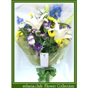 お供え・お悔やみに贈る花 お供え花束5,000円 送料無料  あすつく対応  eehana