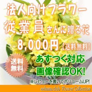 従業員さんに贈る花 8,000円      花束・アレンジ・プリザーブドフラワー・はちもの|eehana